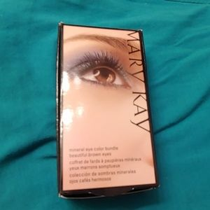 Mary Kay Mineral eye shadow trio for Brown eyes